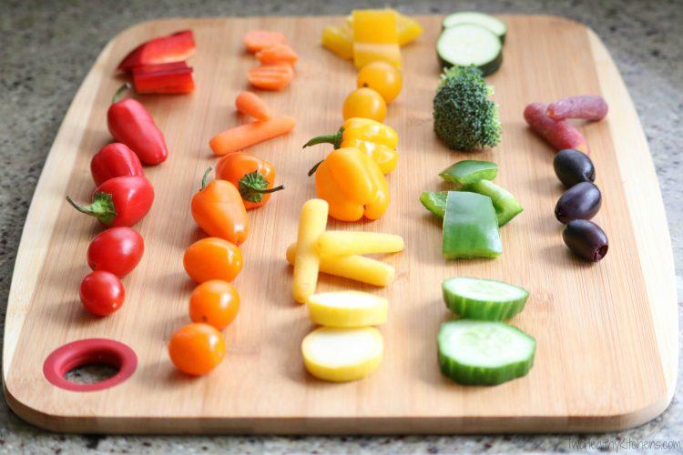 Cheap Vegan Recipes Rainbow Veggie Kabobs Your Vegan News And