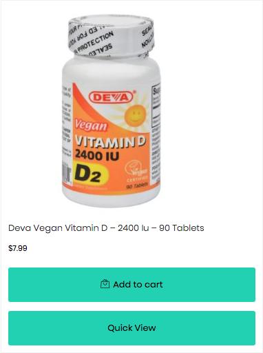 vegan vitamin d veganpills.com