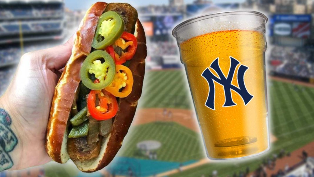 Vegan Food At Yankee Stadium
