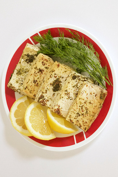 Lemo Dill Slow Cooker Tofu vegan mother hubbard